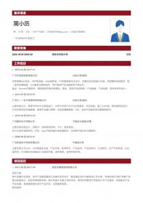 UI设计师/顾问完整简历模板下载word格式