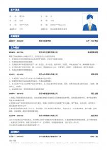 物业招商/租赁/租售/物业管理经理简历模板