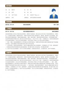 律师/法律顾问求职简历