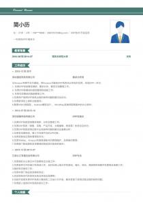 ERP技术/开发应用word简历模板
