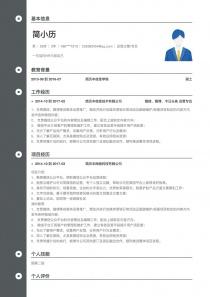 运营主管/专员personal简历模板download