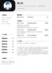 网络运营专员/助理word简历模板