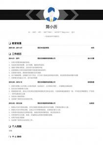财务出纳/会计简历模板下载word格式