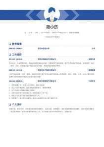 网络/在线销售招聘简历模板下载