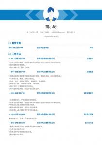 2017最新會計/會計師完整word簡歷模板下載word格式
