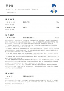 boss直聘財務/審計/稅務完整word簡歷模板范文