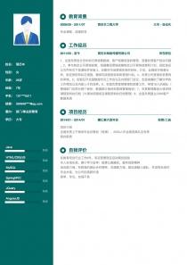 部門/事業部管理完整簡歷模板