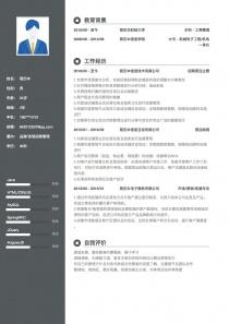 品牌/连锁招商管理word简历模板