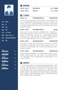项目总监/项目经理/项目主管简历模板