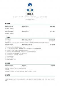财务/审计/税务简历