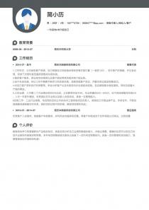 保险代理人/经纪人/客户经理word简历模板