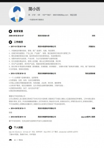 网店运营简历模板下载word格式