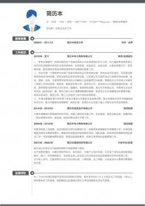 律师/法律顾问求职简历表