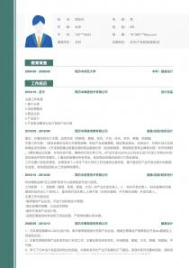 买手/产品经理/服装/纺织品设计简历模板