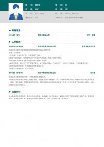 外语培训师/网络/在线销售/英语翻译简历模板