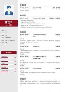 UI设计师/顾问求职简历