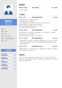 Linkedin财务/审计/税务简历模板