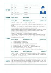业务分析专员/助理/信息技术专员简历模板