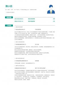 财务/审计/税务简历模版