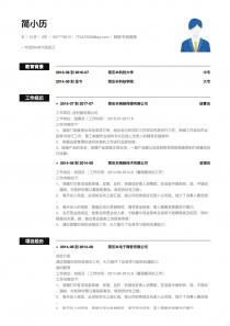 網絡/在線客服找工作簡歷模板下載word格式
