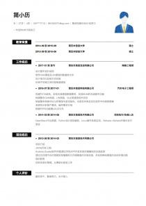 集成电路IC设计/应用工程师简历模板下载