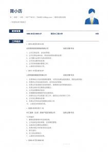 newest律师/法务/合规简历模板download