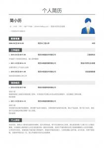 Trade/外贸专员/助理招聘免费简历模板