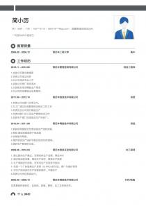 质量管理/验货员(QA/QC)求职简历模板